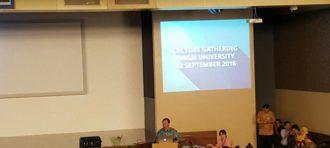Lecturer Gathering Semester Ganjil Tahun Ajaran 2016 – 2017