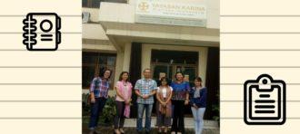 Melatih Kepekaan Sosial di Community Development  Yayasan Karina-Caritas Indonesia