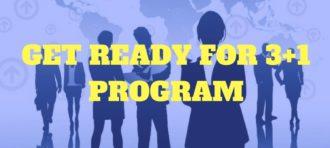 Get Ready for 3+1 Enrichment Program